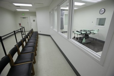 San Quentin's brand new, costly - and still unused - death chamber